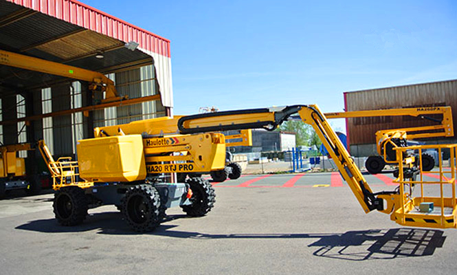 柴油曲臂式高空作业平台HA20RTJ