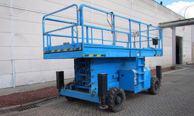 柴油剪叉式高空作业平台H18SX