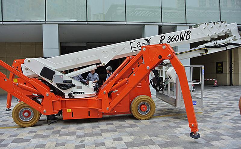 Easylift蜘蛛车R420