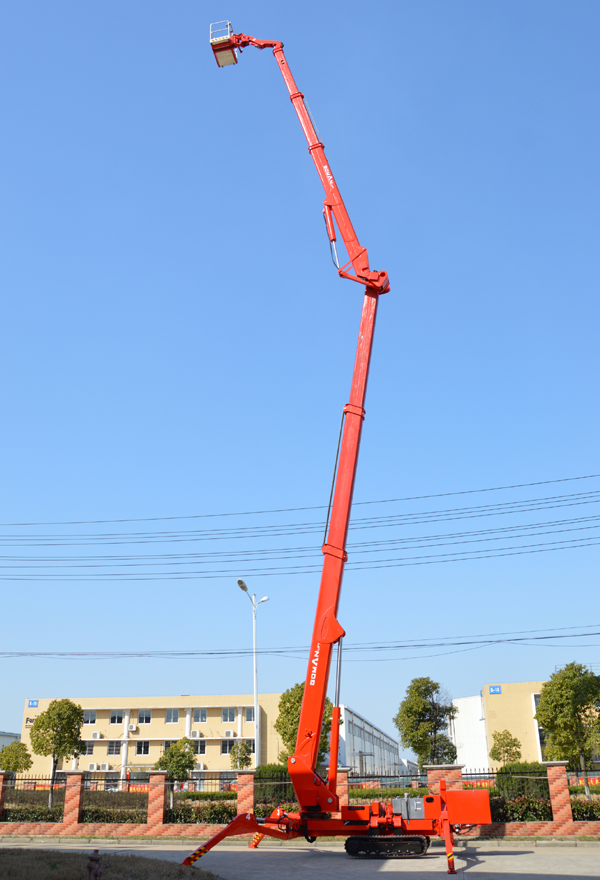 国产36米曲臂式履带蜘蛛车