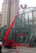 国产26米直臂式履带蜘蛛车