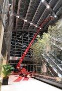 国产30米直臂式履带蜘蛛车