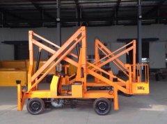 拖车式升降机