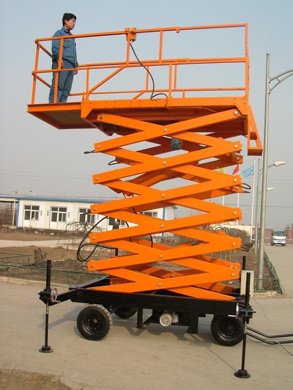 重庆四轮移动式升降平台