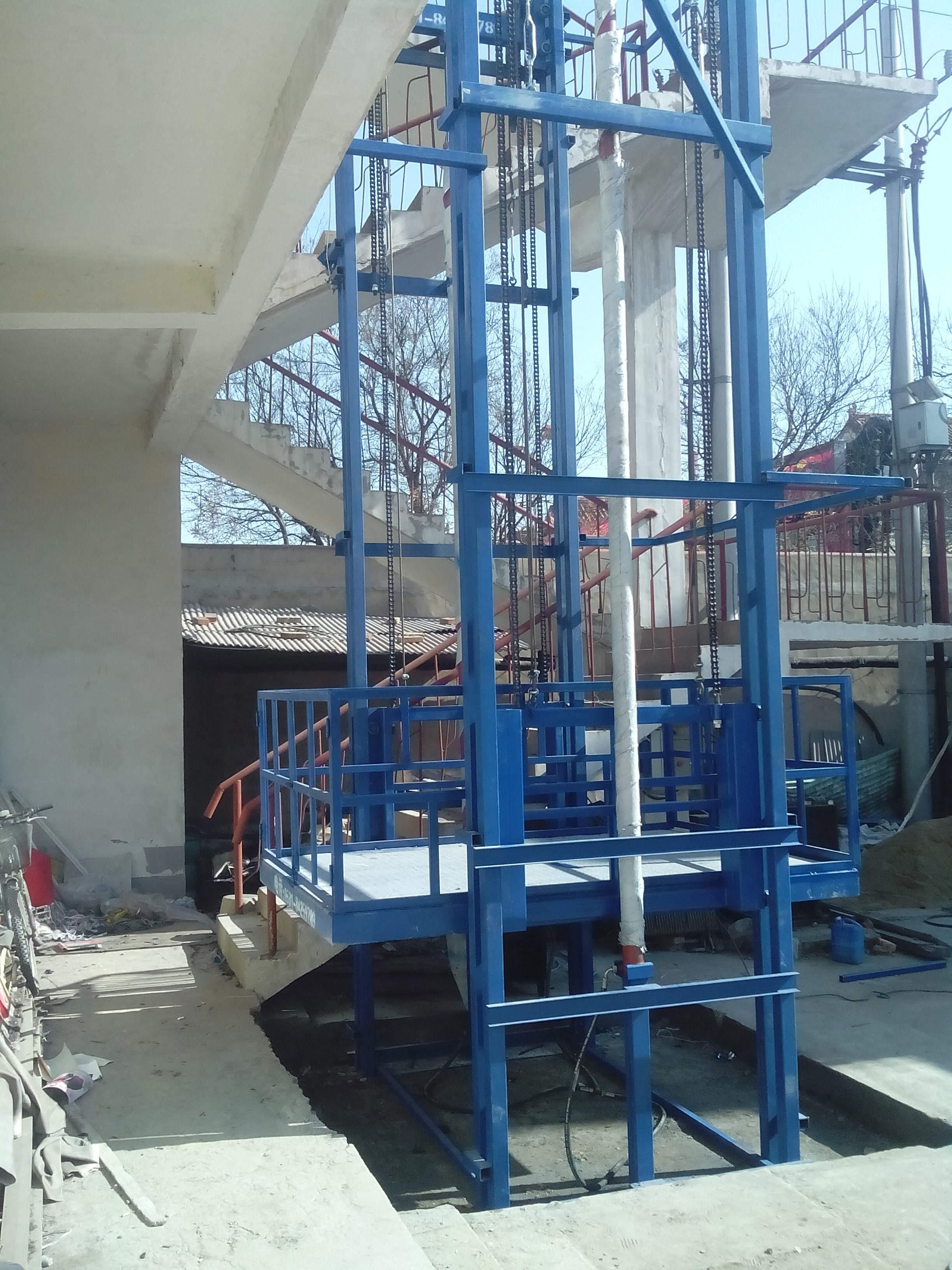 室外液压升降货梯